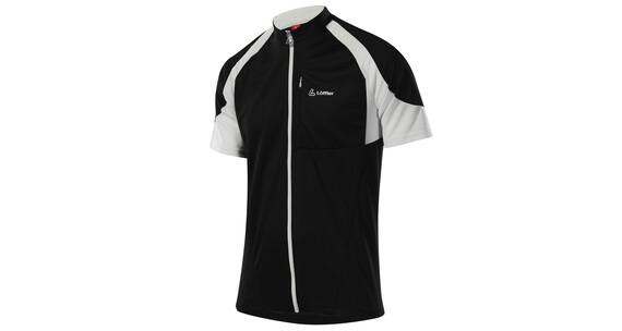 Löffler Bike Shirt FZ Herren schwarz
